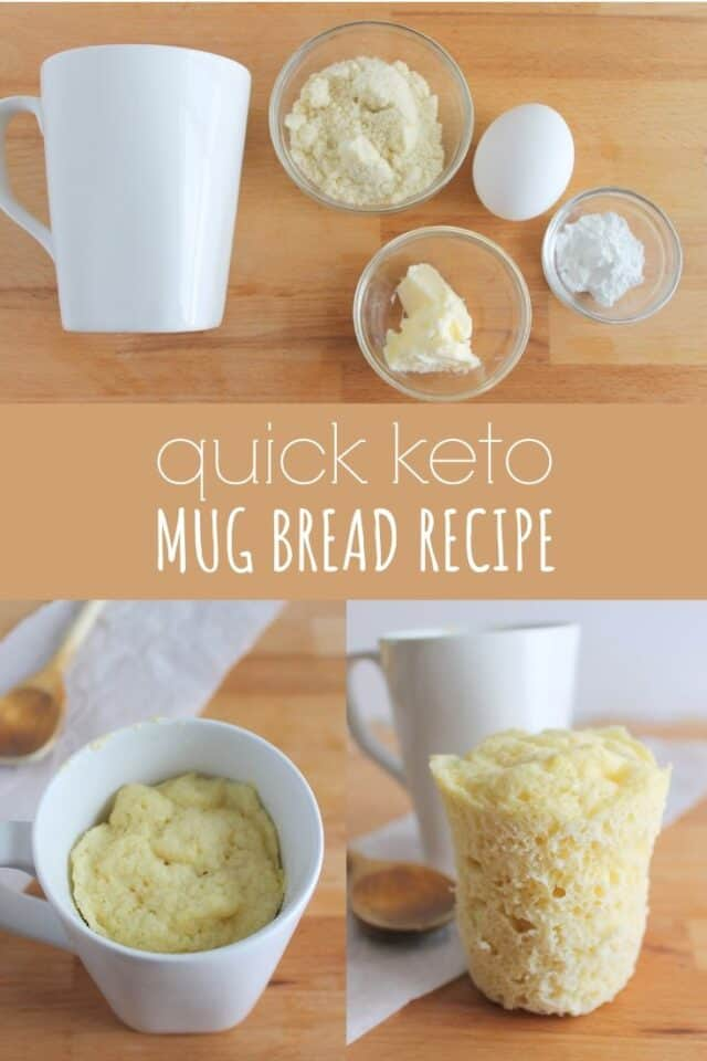 Keto Mug Bread Recipe